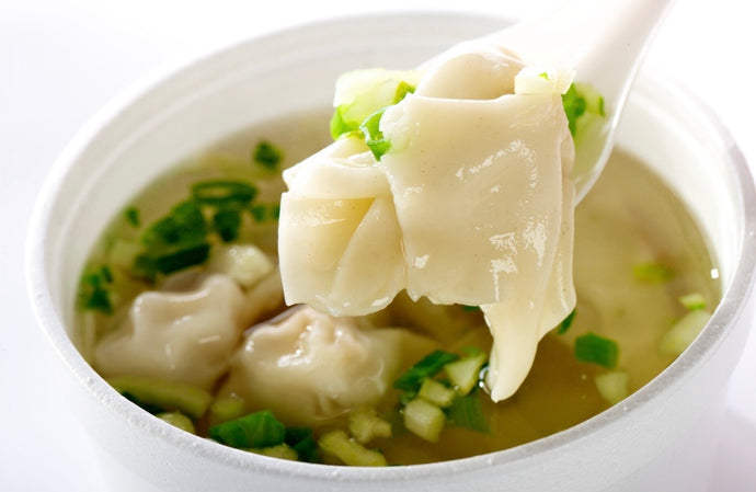 SOUPE WON TONS / HOT WONTON SOUP
