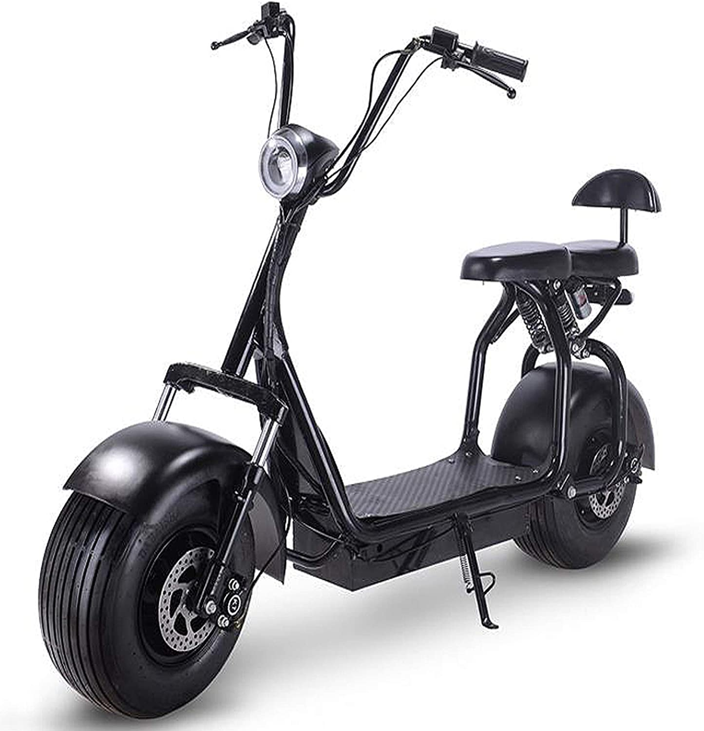 Electric Scooter for Adults (BLACK) SPEED (45KM/HR)