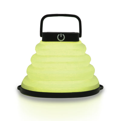 COLLAPSIBLE SOLAR LANTERN COLOURED LIGHT