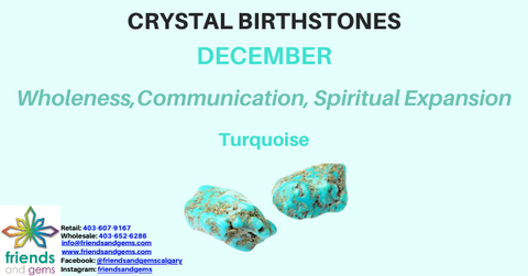 December Crystal Turquoise