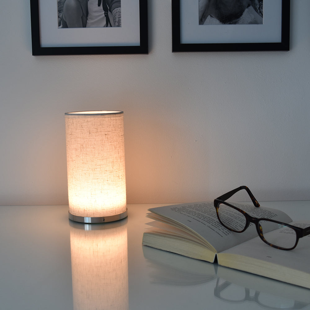 Fabric V1 Cordless Lamp-Rechargeable-Battery-Operated-LED-Table-Lamps-Insight Cordless Lighting