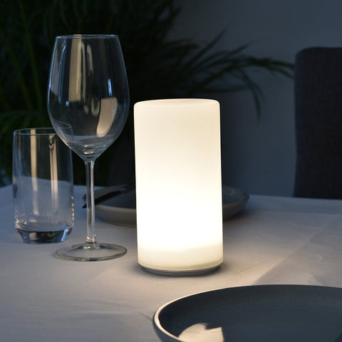 Round V1 Cordless Lamp-Rechargeable-Battery-Operated-LED-Table-Lamps-Insight Cordless Lighting