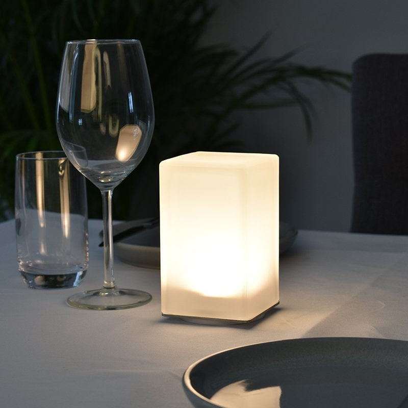Square Cordless Lamp-Rechargeable-Battery-Operated-LED-Table-Lamps-Insight Cordless Lighting