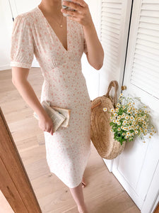 Fashion casual printed short sleeve dress