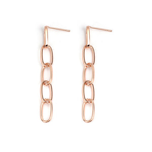 Simple retro exaggerated earrings YD21