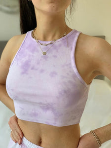 Iris purple camisole