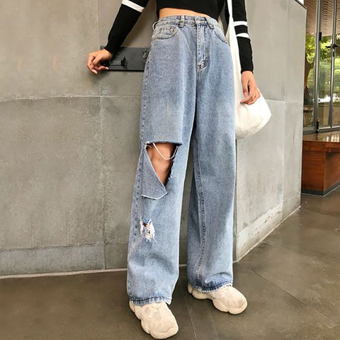 Loose casual jeans WJ13