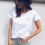 Womens fashion casual simple t-shirt RY87