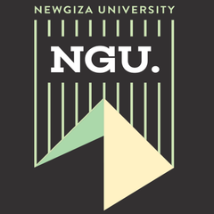 New Giza University NGU Logo printed on high quality T-shirts for business purposes by Cottonball Egypt