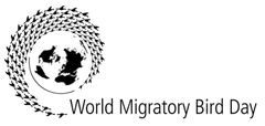 World Migratory Bird Day Logo printed on wholesale business Tshirts by Cottonball Egypt
