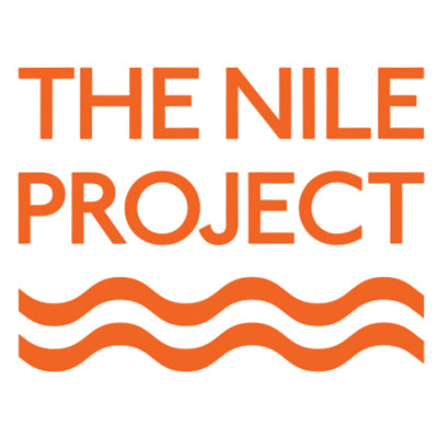 The Nile Project tshirt printed by cottonball for business and apparel printing in cairo