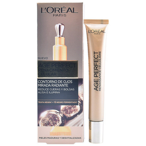 Gel contour des yeux Age Perfect L'Oreal Make Up (15 ml)