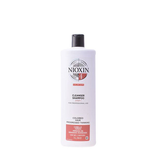 Shampooing volumateur System 4 Nioxin Cheveux fins