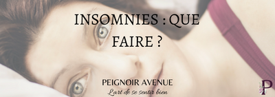 Insomnies : que faire ?