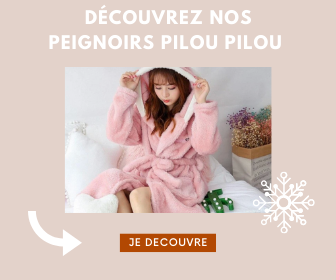 Peignoir cocooning d'hiver