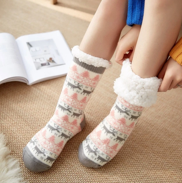 Chaussettes pilou cocooning