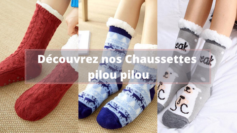 Collection Chaussettes Pilou