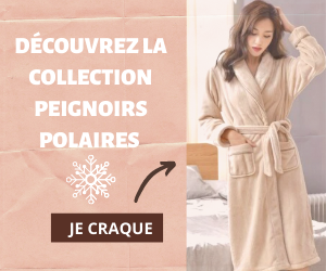 Collection peignoirs polaires