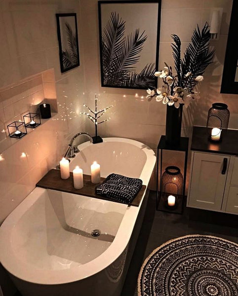 bougies d'ambiance cocooning