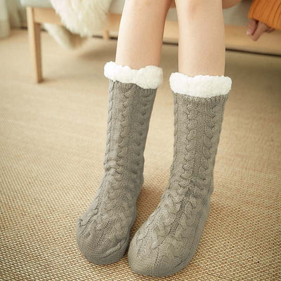 Grosse Chaussette Femme Hiver