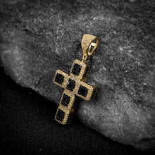 Load image into Gallery viewer, Cross Silver Pendant with CZ Stone-929988