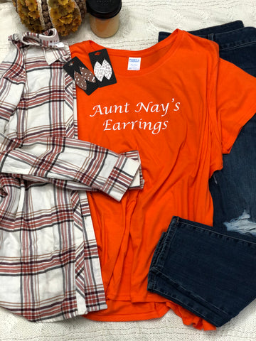 AUNT NAY'S EARRINGS Short-sleeve Graphic T-shirt