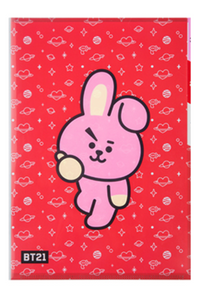 BT21 3 POCKET FILE HOLDER-COOKY