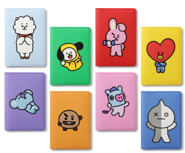 BT21 FOLDING CARD CASE-CHIMMY