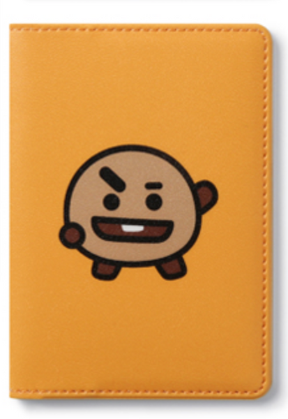 BT21 FOLDING CARD CASE-SHOOKY