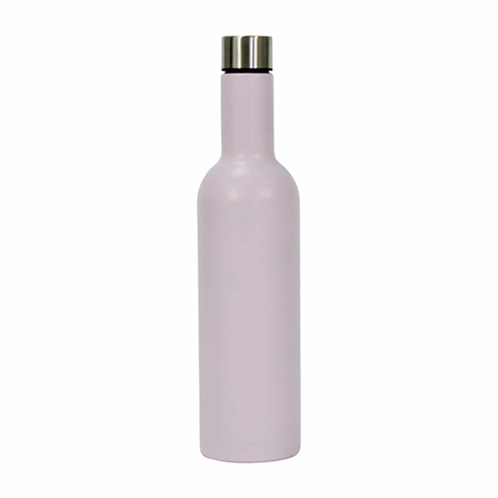 WINE BOTTLE STAINLESS - PINK