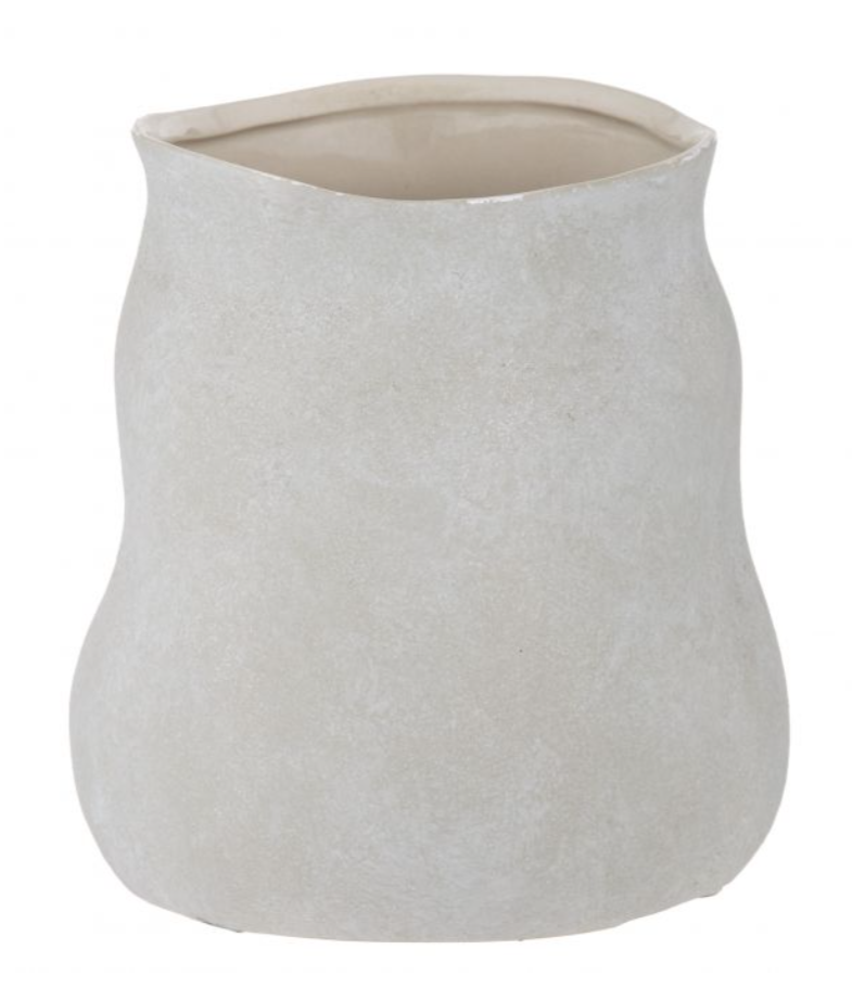 60.986.02 Maliah Pot 22x22x23cm Cream