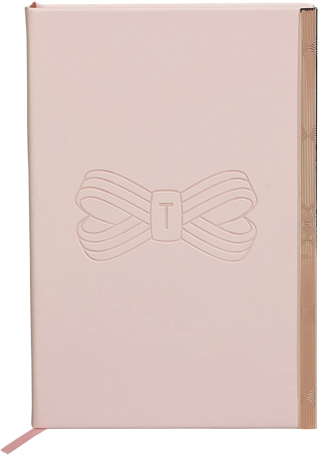 TED417 A5 SOFT TOUCH NOTEBOOK PINK