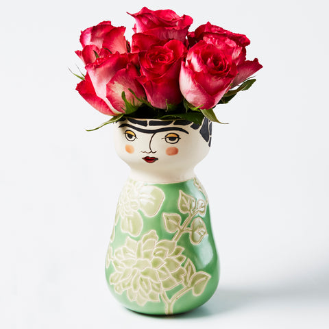DP219 FRIDA FACE VASE
