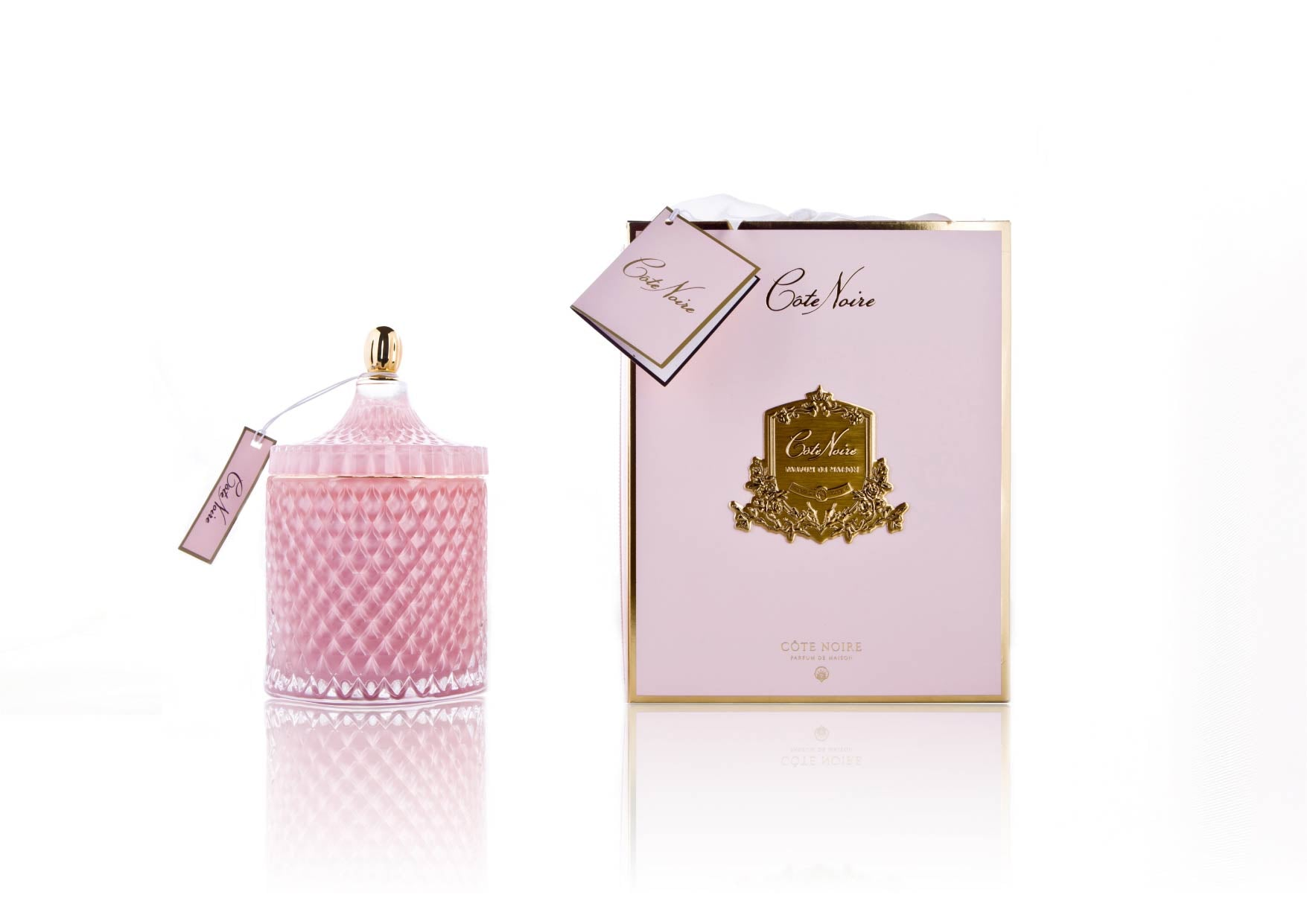 GML45006 Grand Pink Art Deco Candle