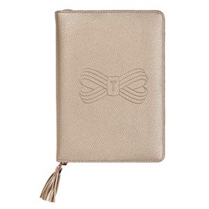 A5 TASSEL FOLIO ROSE GOLD
