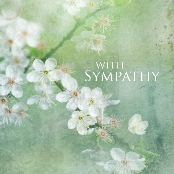 [AL-OI0002] CARD-SYMPATHY FLOWERS