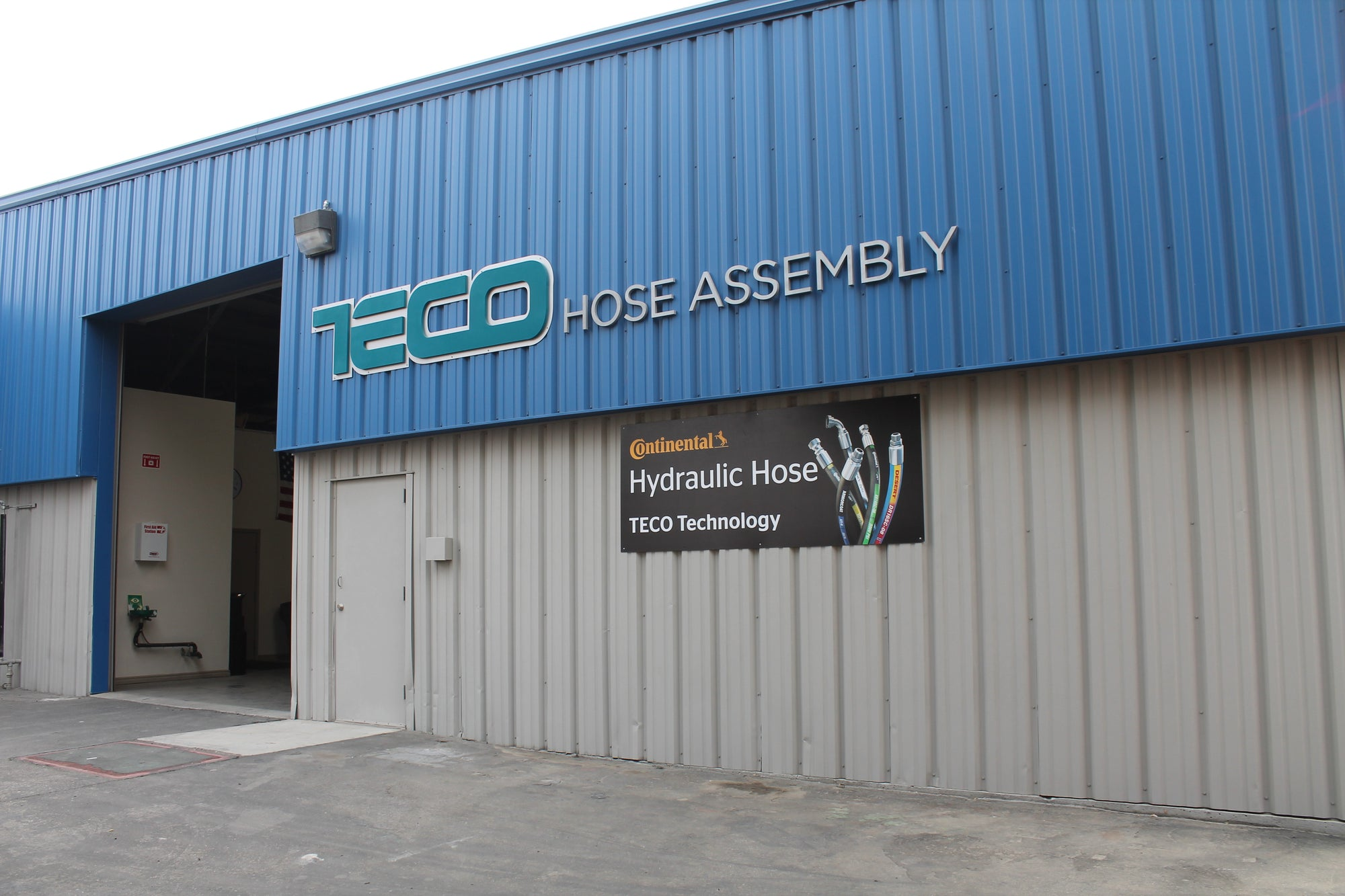 Fresno,CA is home to our NEW Hose Fab. Facility