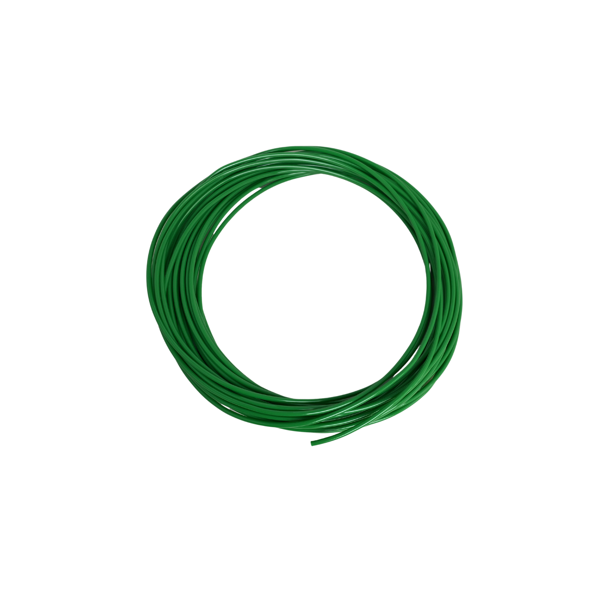 Green Plastic air tubing