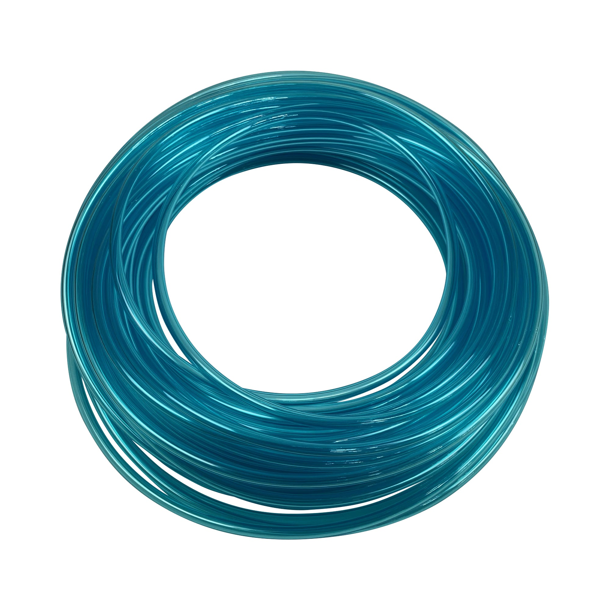 Clear blue tubing compatible for air