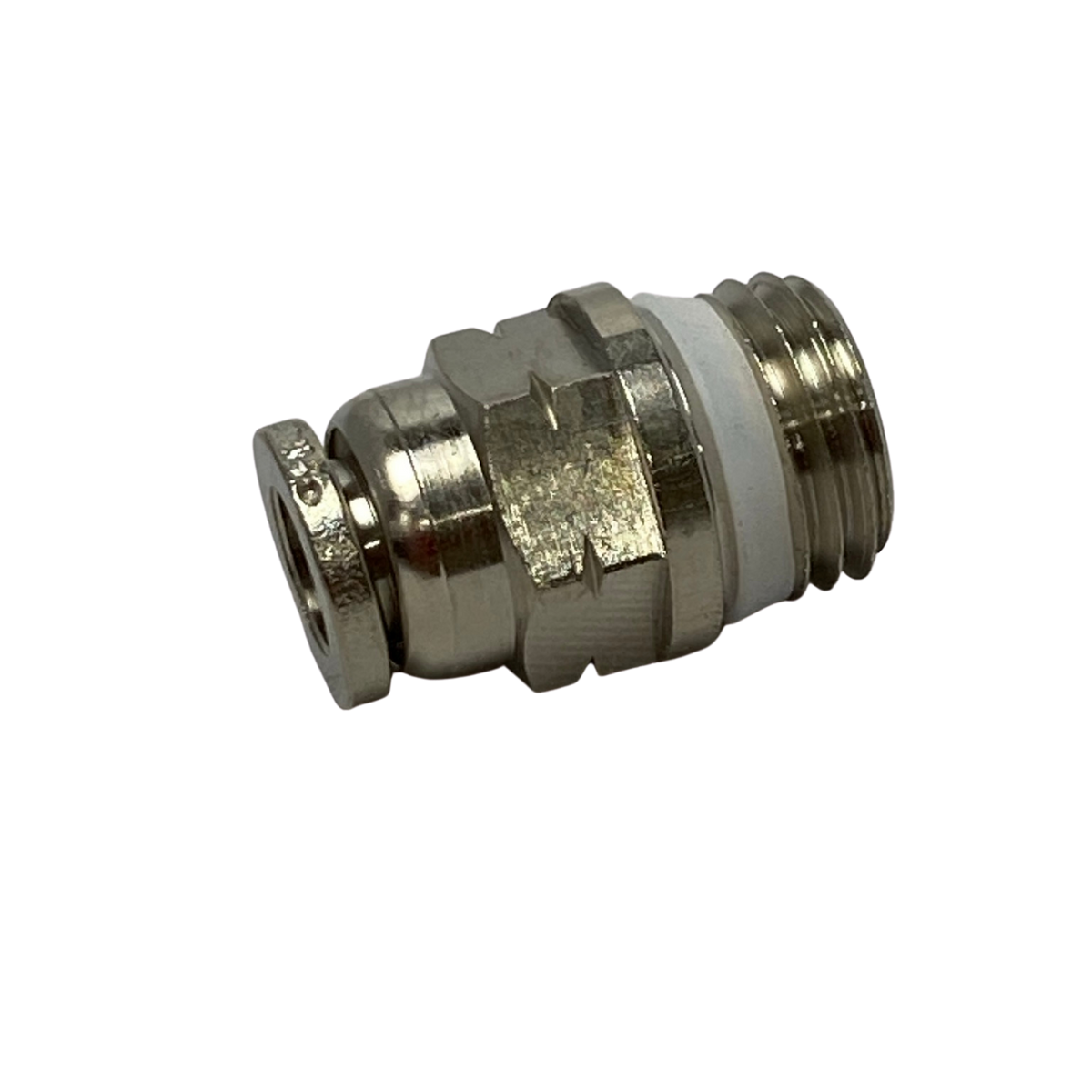 Numatics | Male connector 1/4 in thread 1/4 in tube | INWB103-104-021