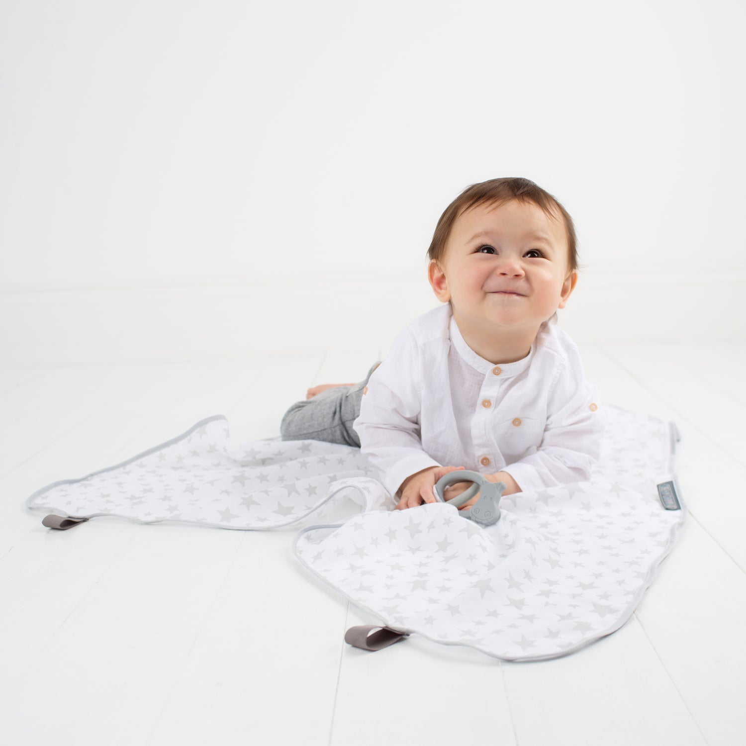 Silver Stars 6 in 1 MultiMuslin - Cheeky Chompers