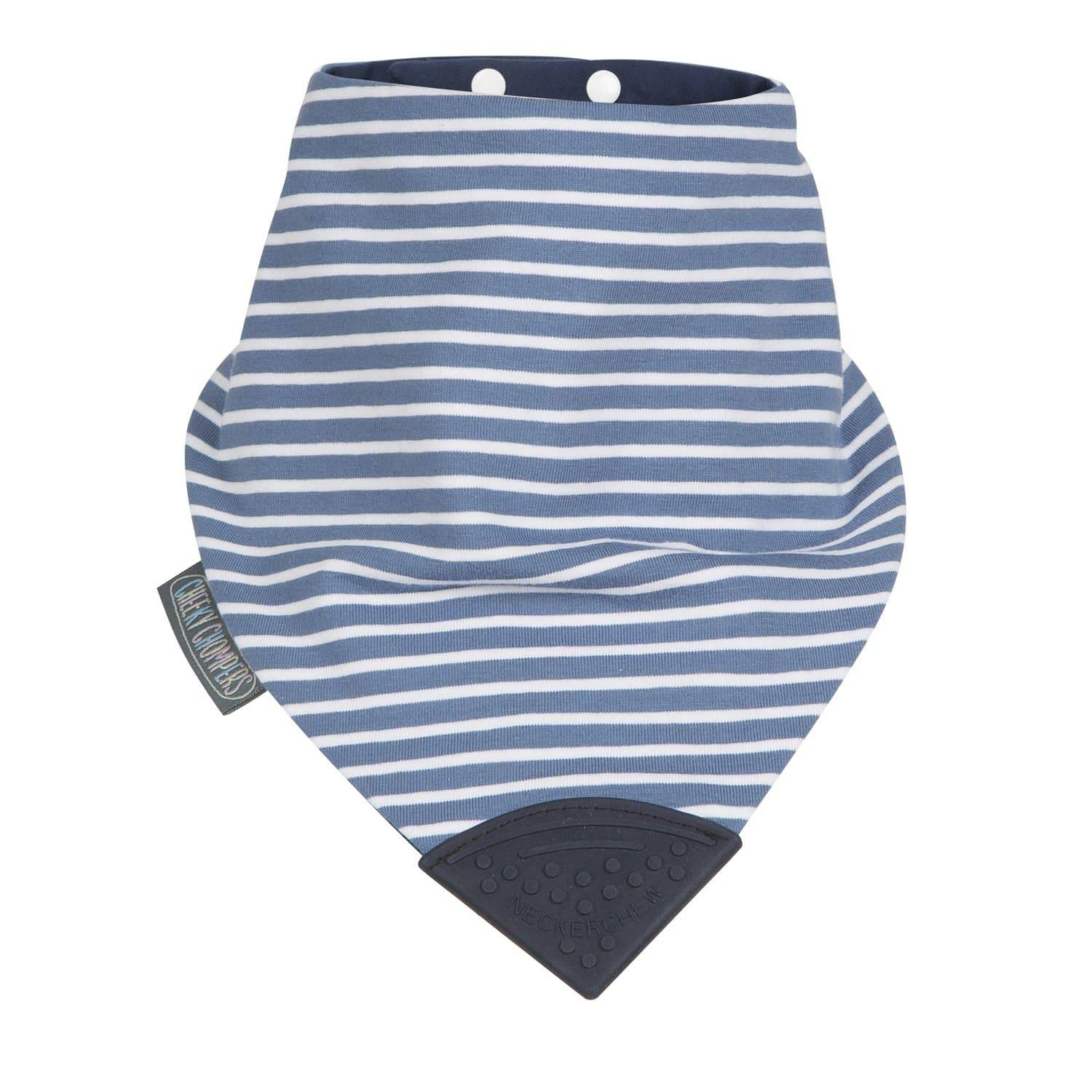 Preppy Stripes Large Neckerchew - Cheeky Chompers