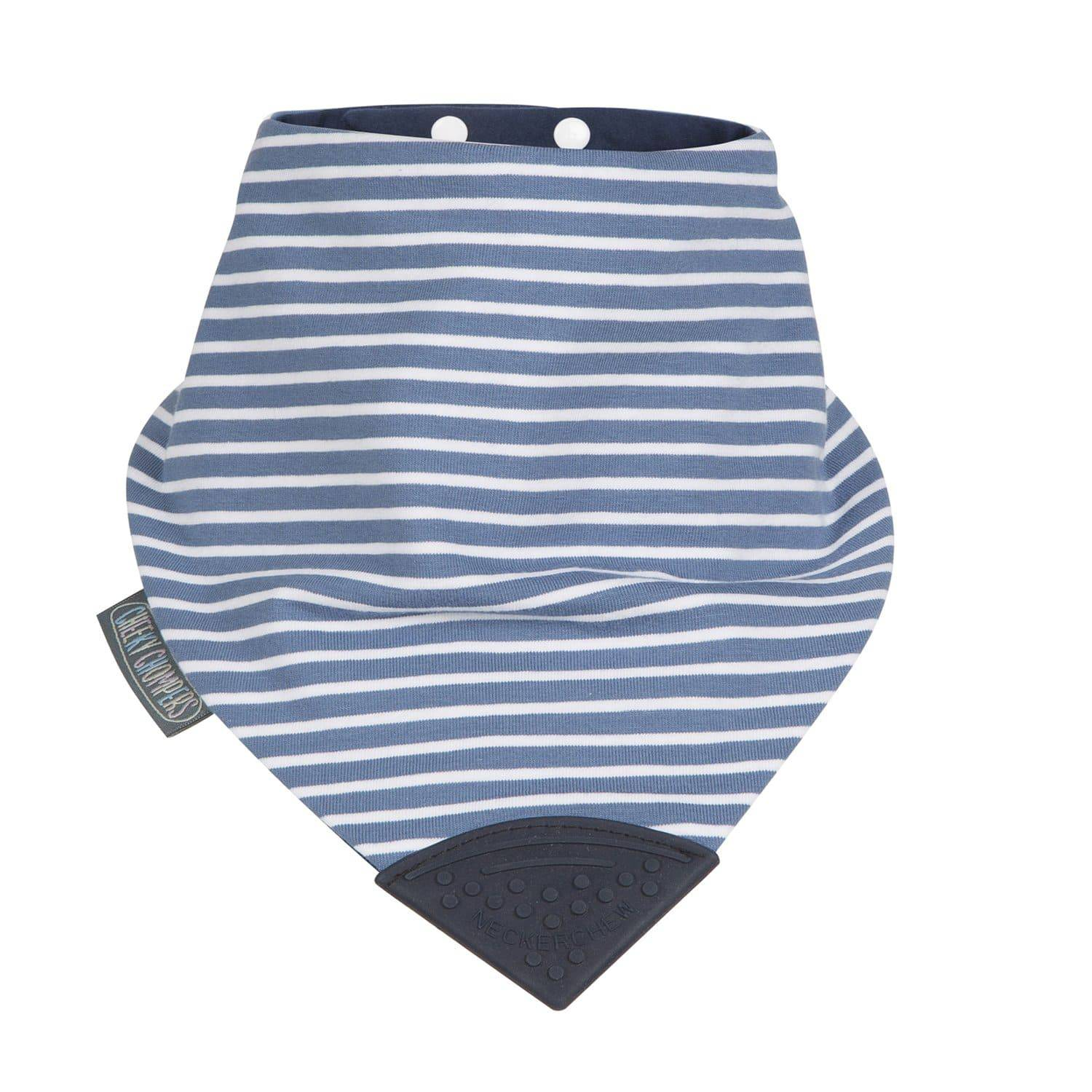 Preppy Stripes Medium Neckerchew - Cheeky Chompers