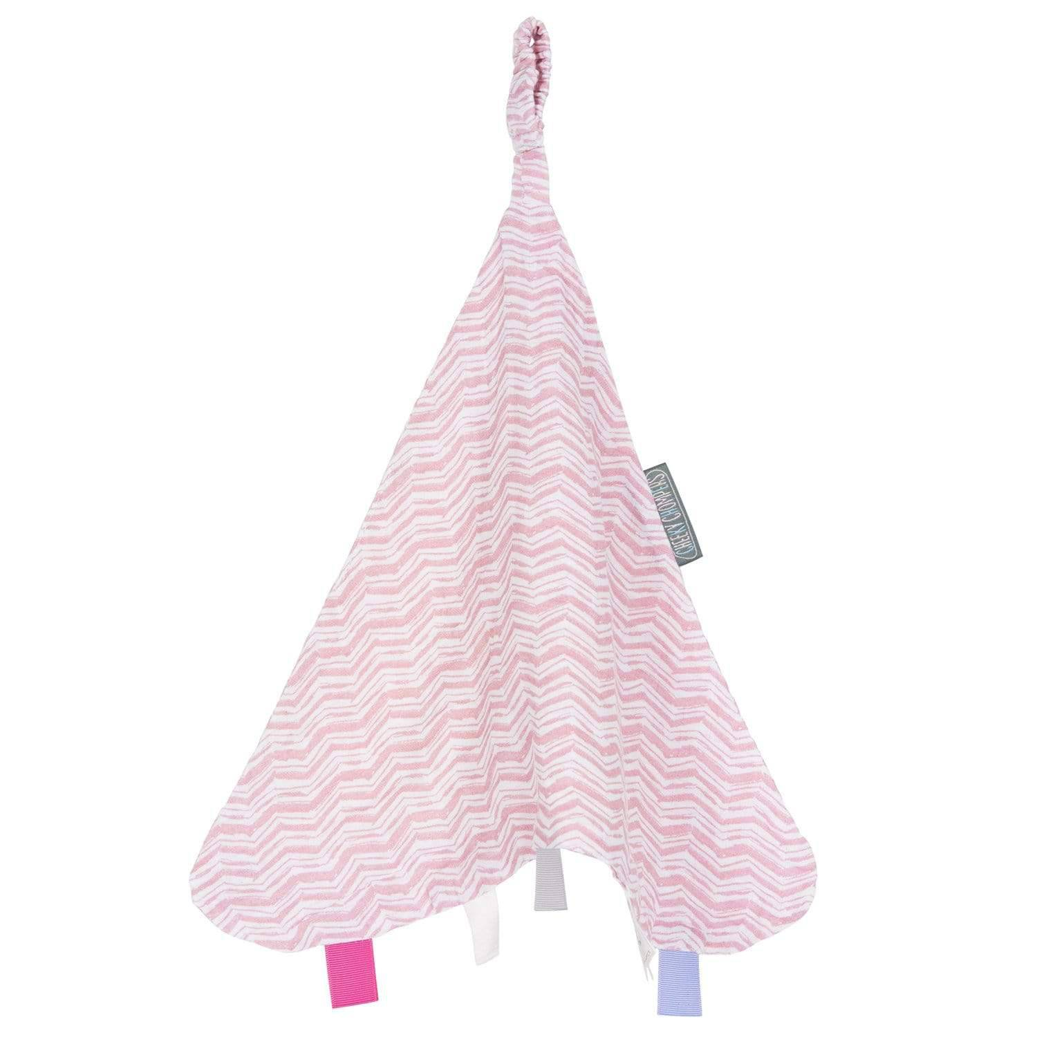 Rosy Days Muslin Comforter - Cheeky Chompers