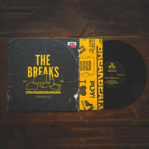 "The Breaks EP - Limited Edition 10"" Vinyl - Drum&BassArena"