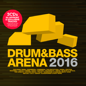 Drum&BassArena 2016 (3xCD inc. Digital Tracks) - Drum&BassArena