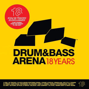 Drum&BassArena 18 Years (3xCD inc. Digital Tracks) - Drum&BassArena