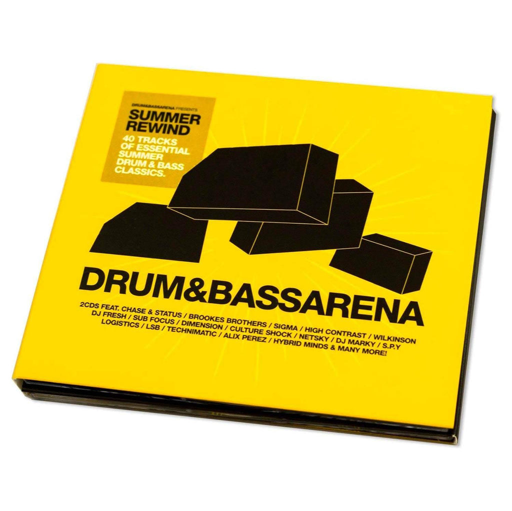 Drum&BassArena Summer Rewind 2CD - Out Now - Drum&BassArena
