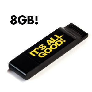 It's All Good! 8GB USB Stick - Drum&BassArena