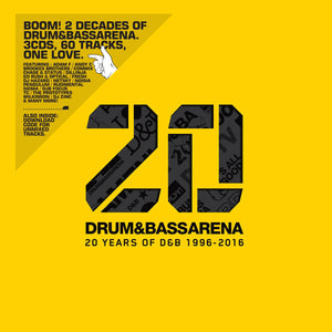 Drum&BassArena 20 Years (3xCD inc. Digital Tracks) - Drum&BassArena